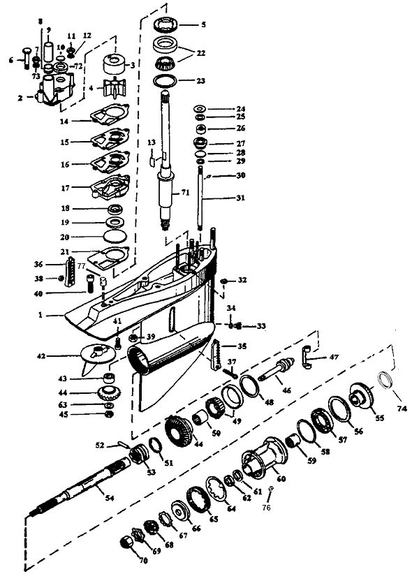 Mercruiser Engine Parts Diagram Further 318 Chrysler Marine Cooling