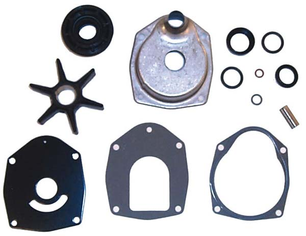 Mercruiser Water Pump Kit SIE 18-3320 : by: Sierra : Complete Pump Housing kit for MR/Alpha One units sn#6854393-0D594568. For Mercruiser Inboard/Outboard #1 Units thru