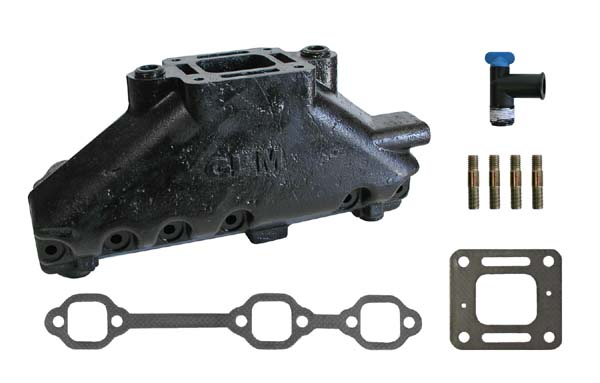 MERCRUISER EXHAUST MANIFOLD GM 4.3L V6 (CAST IRON)