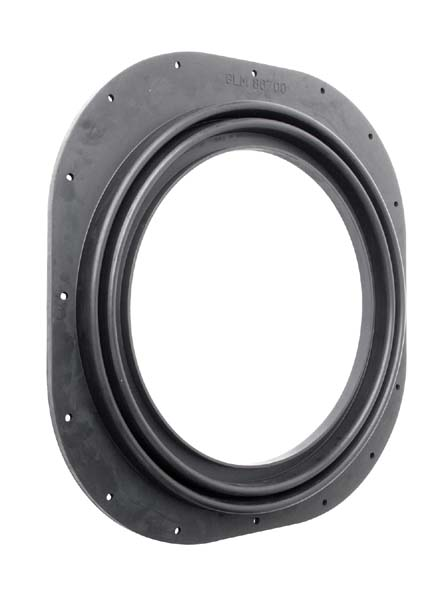 OMC ELECTRIC SHIFT TRANSOM PLATE SEAL BOOT