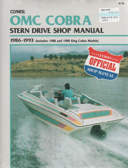 Manual - OMC Cobra Stern Drives