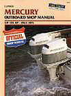 Manual - Mercury 3.9 - 135 HP Outboards<BR>(1964-1971)