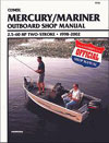 Manual - Mercury/Mariner 2.5-60HP<BR>(1998-2002)