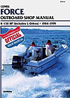 Manual - Force 4-150 HP Outboards<BR>Includes L Drive (1984-1999)