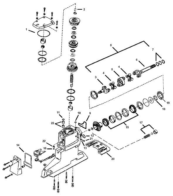 Service Manual alpha one Gen 2 U Joint Bellows Replacement
