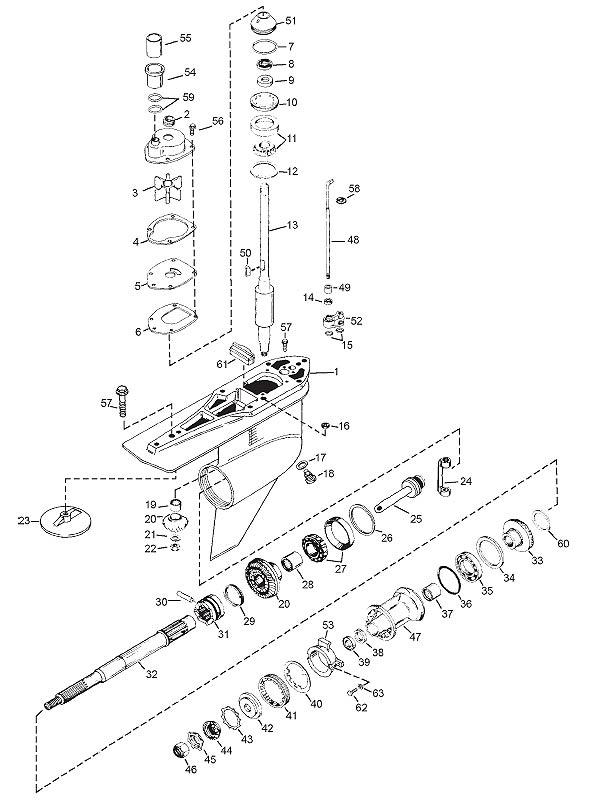 Mercruiser Bravo 3 Outdrive Parts Diagram